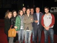 29 ottobre 2012 – Antimafia, noi giovani con il procuratore Grasso. La delegazione della Consulta provinciale studentesca all'incontro-testimonianza con Pietro Grasso, procuratore nazionale antimafia.