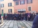 18 novembre 2017 la CPS di Bergamo alla cerimonia commemorativa organizzata dall'Associazione Nazionale del Fante.