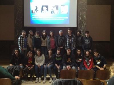 GenerazioneL Attilio Bolzoni con gli studenti