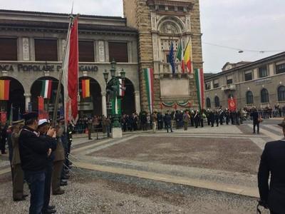 4 novembre 2017 Cerimonia Unità d'Italia e Forze Armate