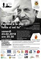 23 febbraio-UMBERTO GALIMBERTI a Bergamo